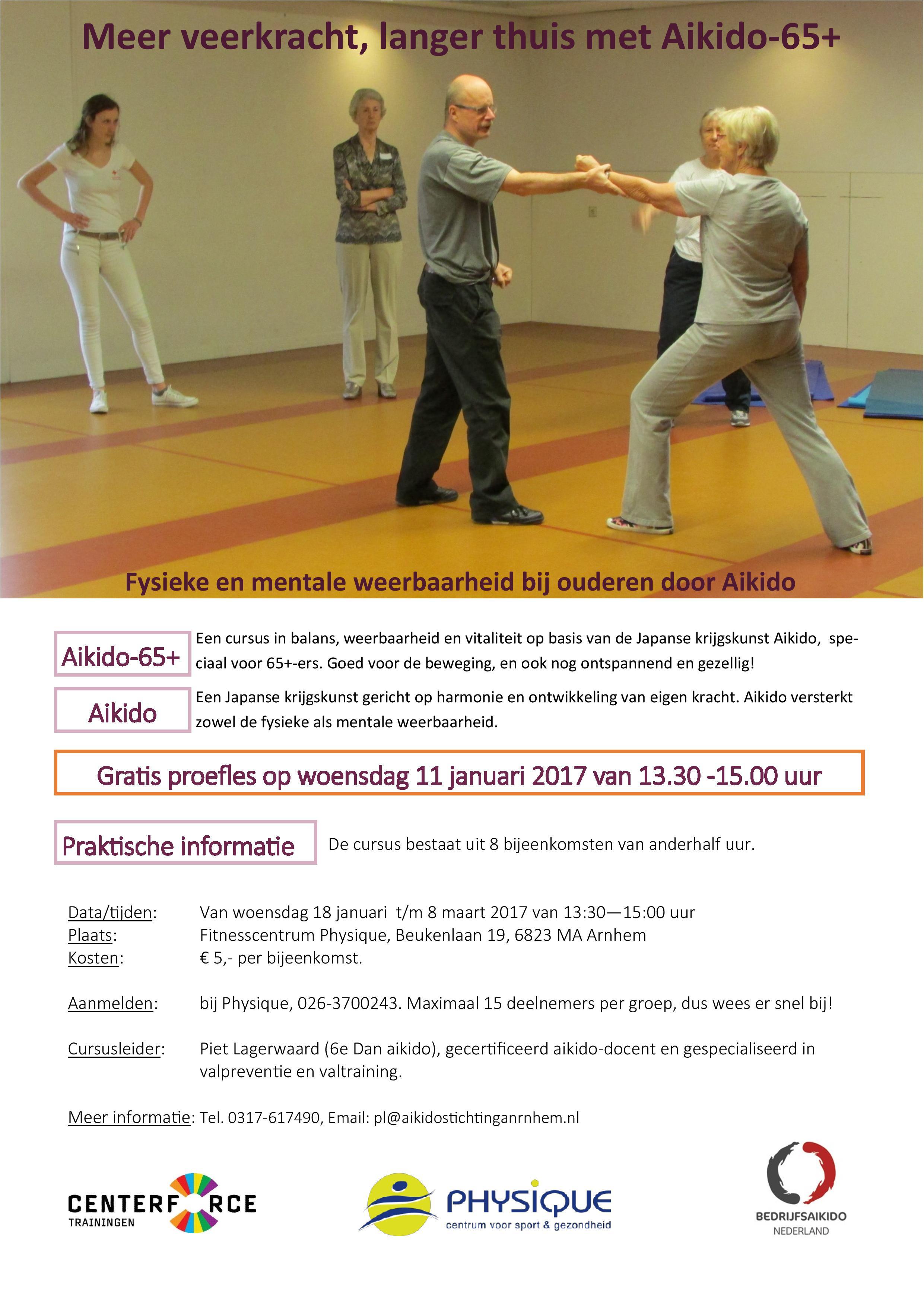Aikido65plus Arnhem Januari – Maart